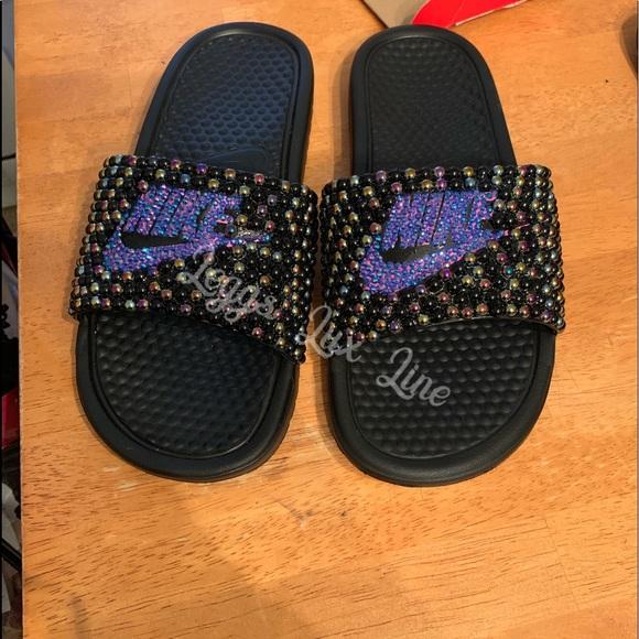 5c1c8d56d9fe7 Custom Nike Slides NWT